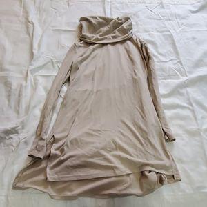 Beige Tunic Shirt